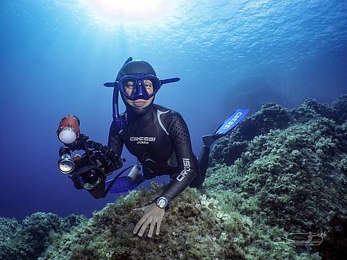 Freediving photography workshop